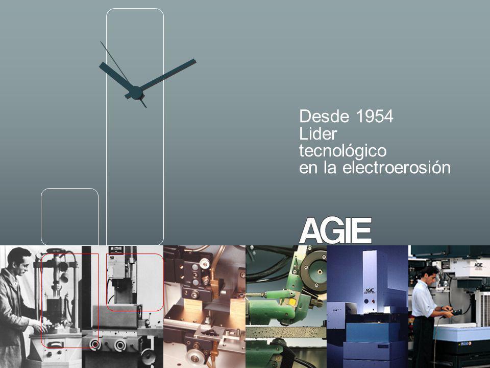 Desde 1954 Lider tecnológico en la electroerosión