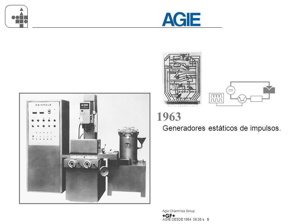 1963 Generadores estáticos de impulsos.