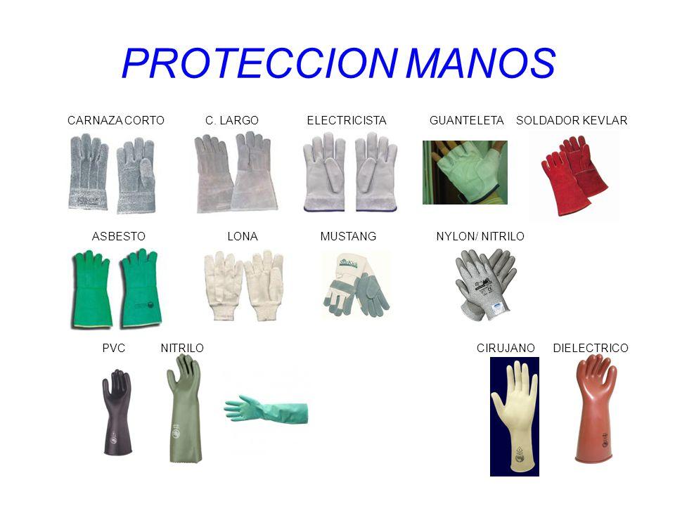 PROTECCION MANOS ASBESTO LONA MUSTANG NYLON/ NITRILO