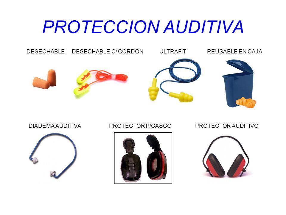 PROTECCION AUDITIVA DESECHABLE DESECHABLE C/ CORDON ULTRAFIT REUSABLE EN CAJA.