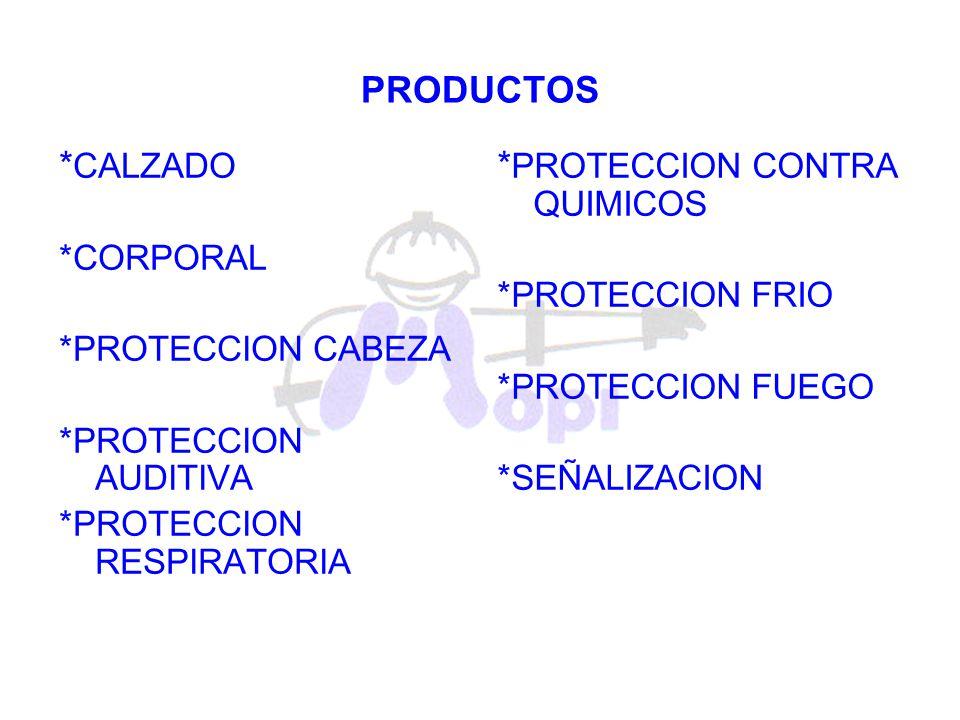 *PROTECCION CONTRA QUIMICOS