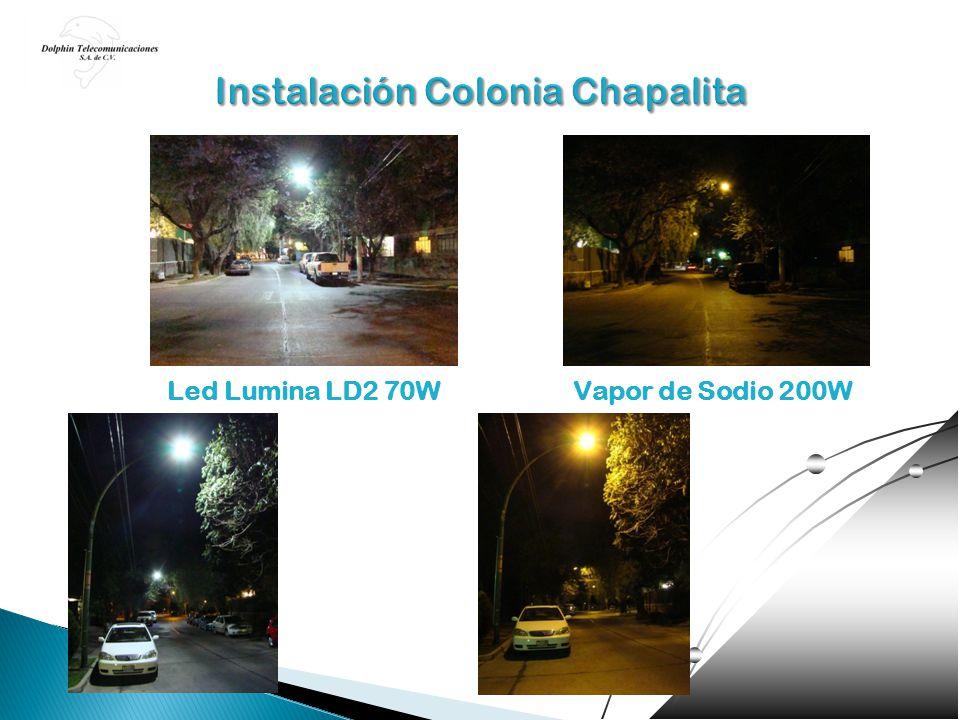 Instalación Colonia Chapalita