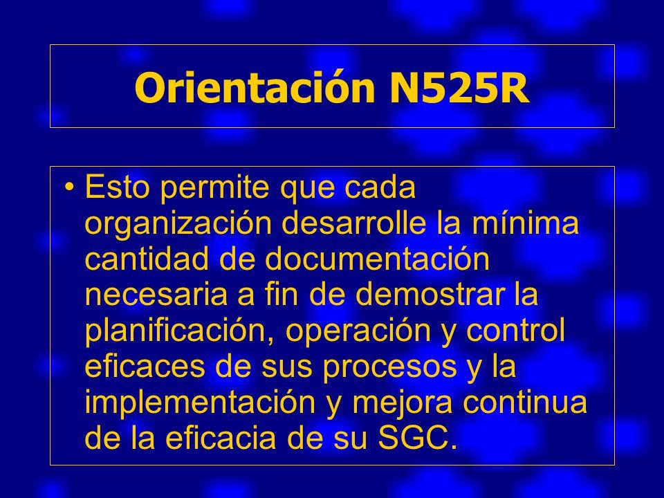 Orientación N525R
