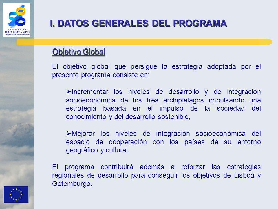 I. DATOS GENERALES DEL PROGRAMA