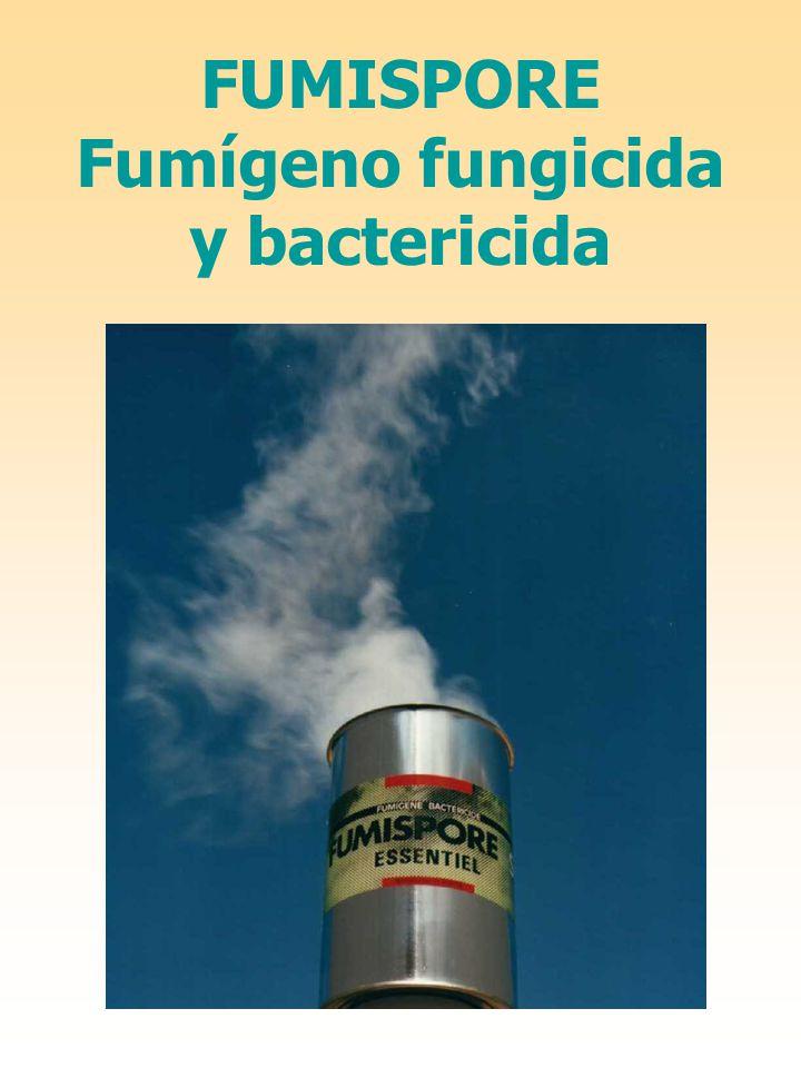 Fumígeno fungicida y bactericida