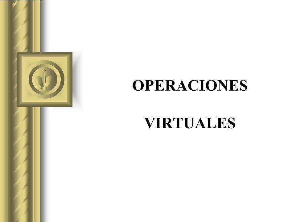 OPERACIONES VIRTUALES