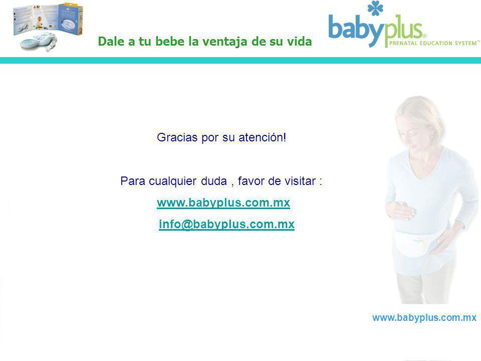 www.babyplus.com.mx info@babyplus.com.mx