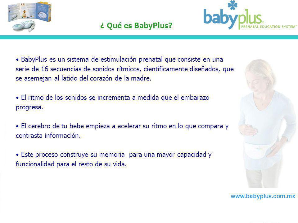 ¿ Qué es BabyPlus