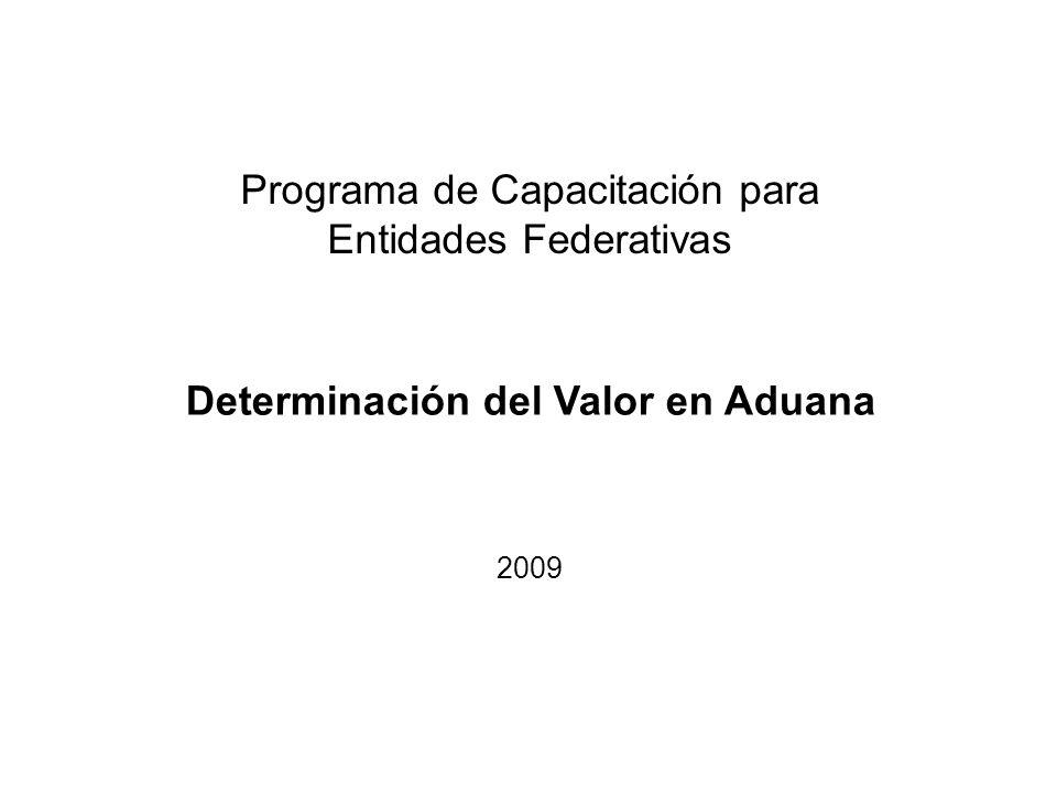 Determinación del Valor en Aduana