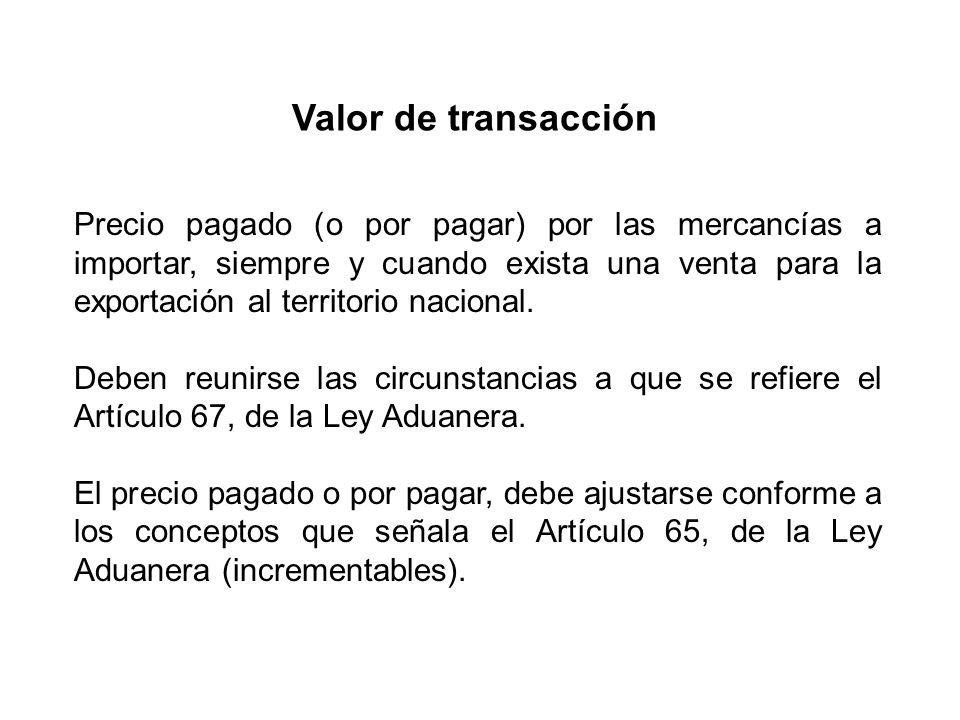 Valor de transacción