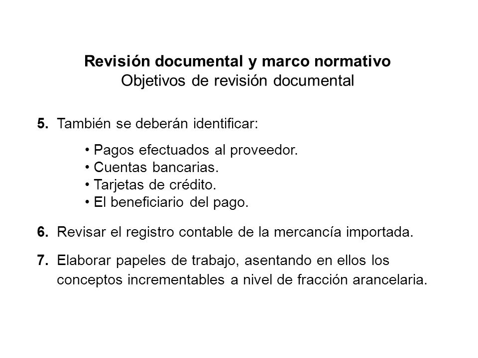 Revisión documental y marco normativo