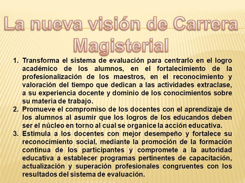 La nueva visión de Carrera
