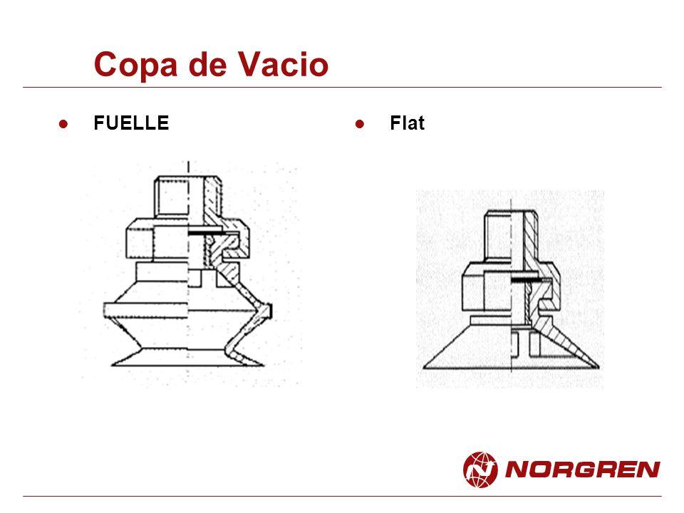 Copa de Vacio FUELLE Flat
