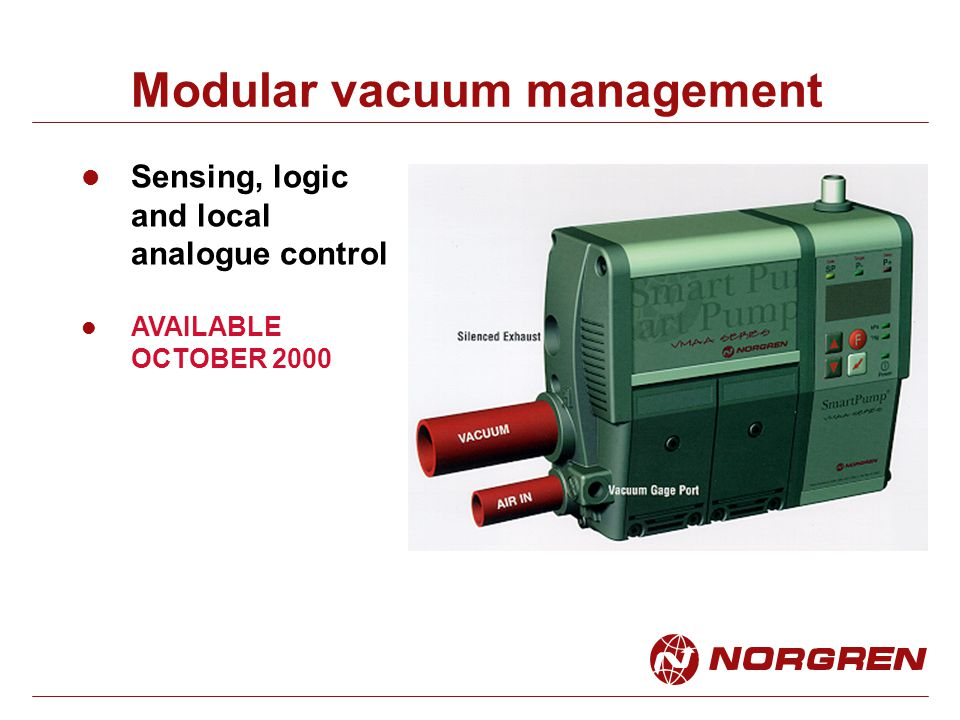 Modular vacuum management