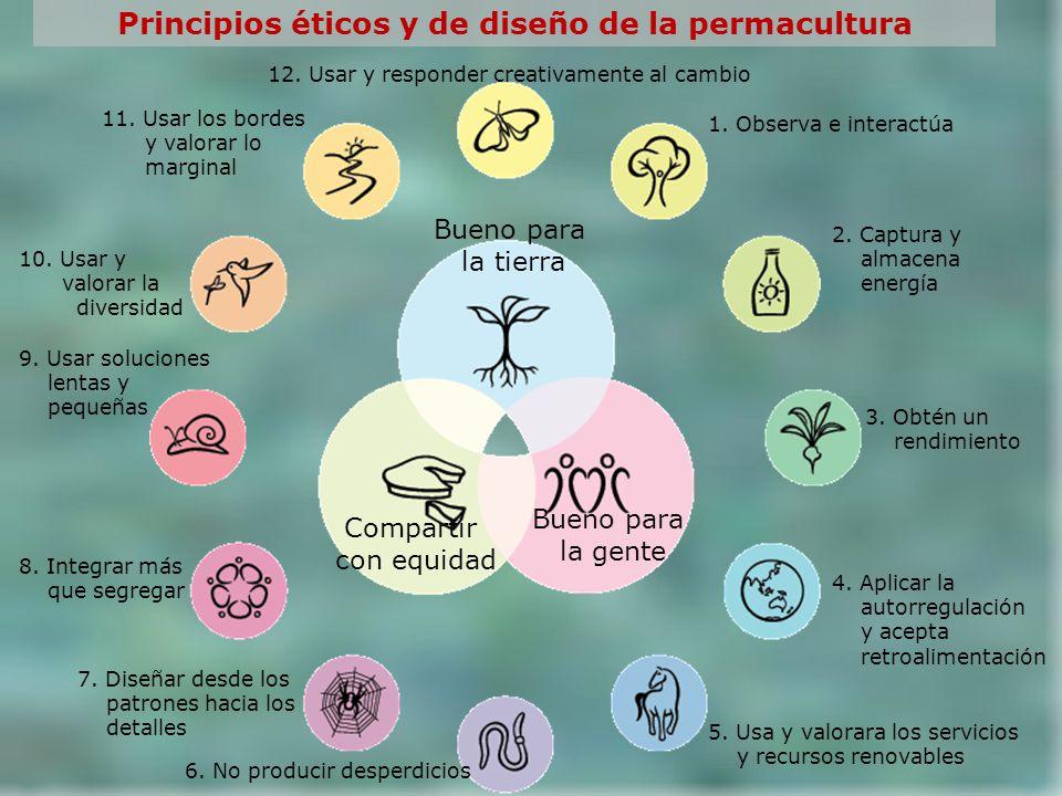 Principios éticos y de diseño de la permacultura