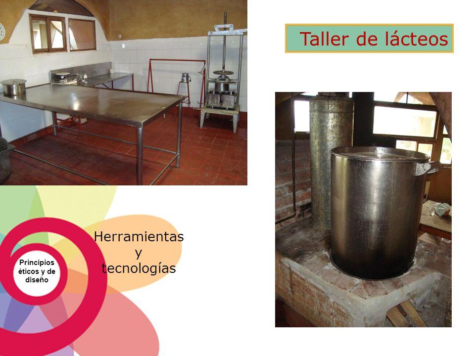 Taller de lácteos Herramientas y tecnologías Principios éticos y de