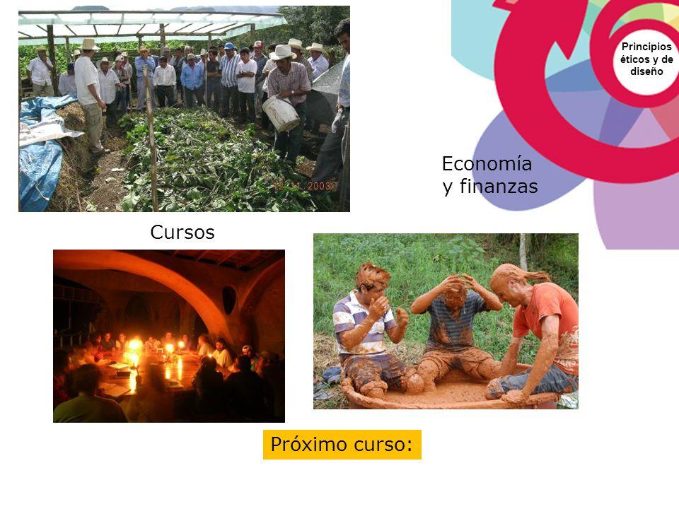Economía y finanzas Cursos Próximo curso: Principios éticos y de
