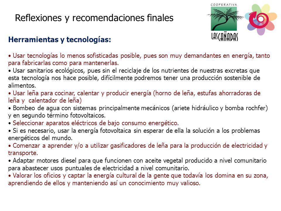 Herramientas y tecnologías: