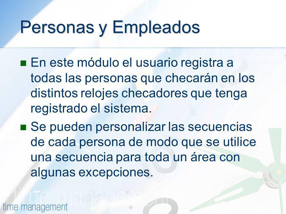 Personas y Empleados