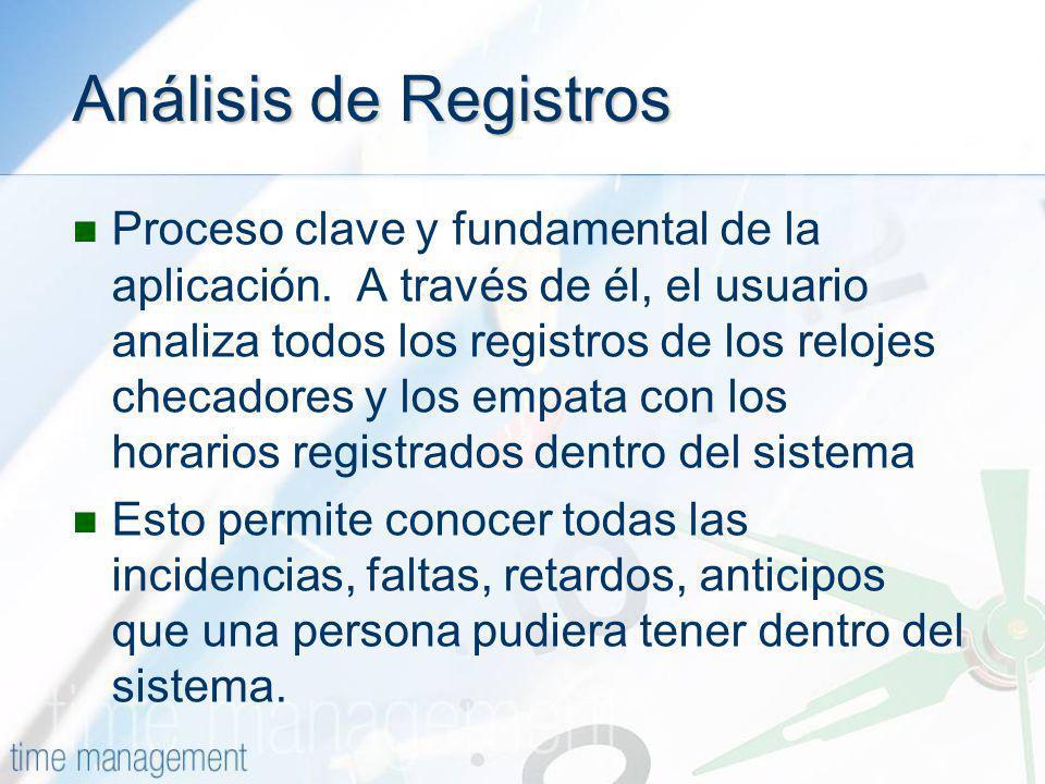Análisis de Registros