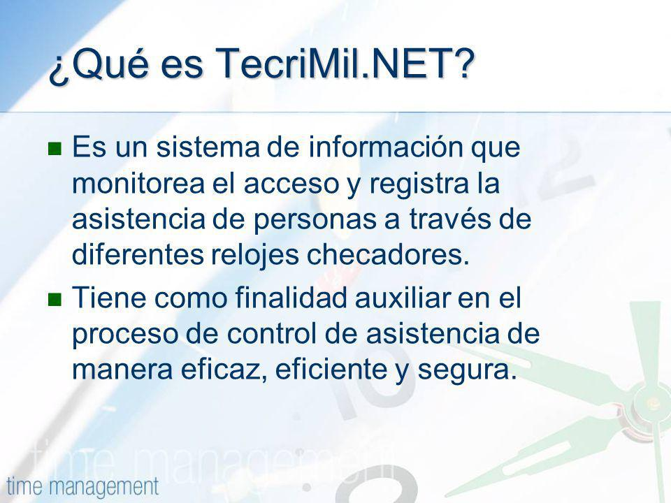 ¿Qué es TecriMil.NET