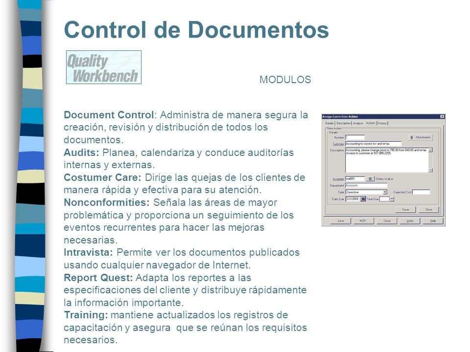 Control de Documentos MODULOS