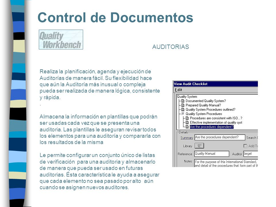 Control de Documentos AUDITORIAS