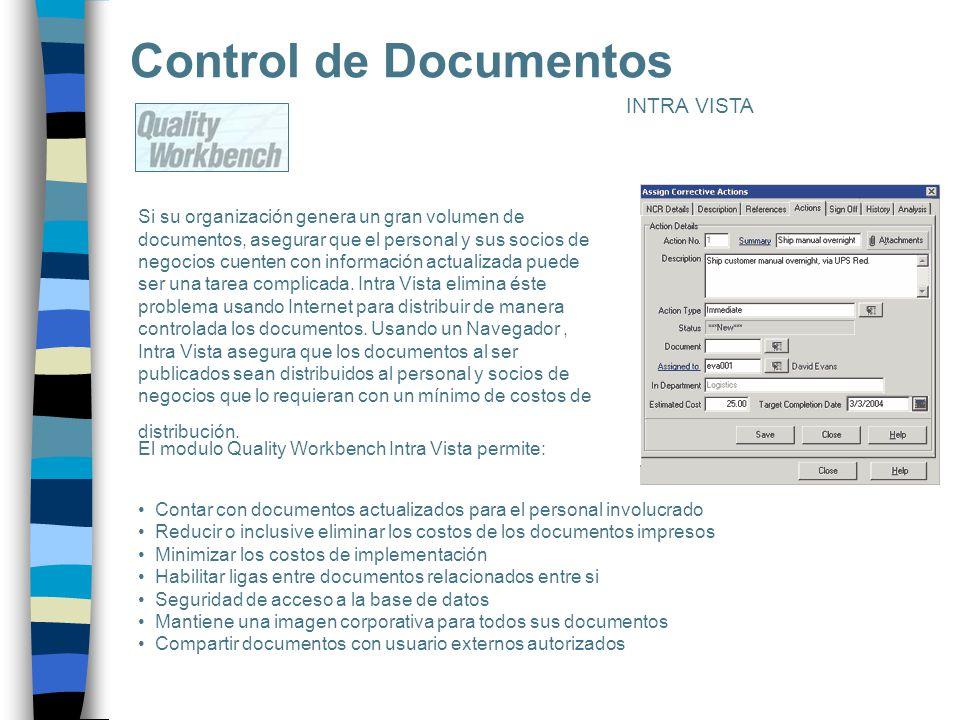 Control de Documentos INTRA VISTA