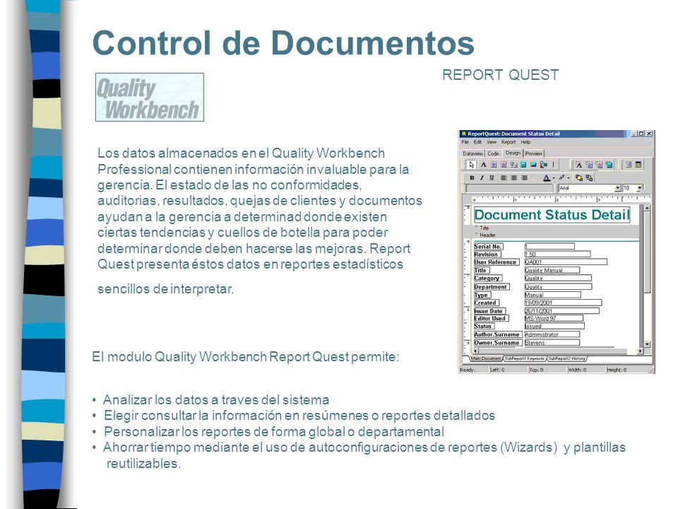 Control de Documentos REPORT QUEST