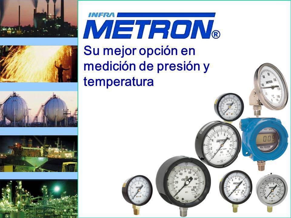 Su mejor opción en medición de presión y temperatura