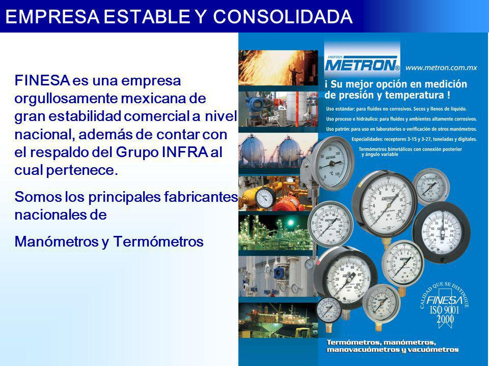 EMPRESA ESTABLE Y CONSOLIDADA