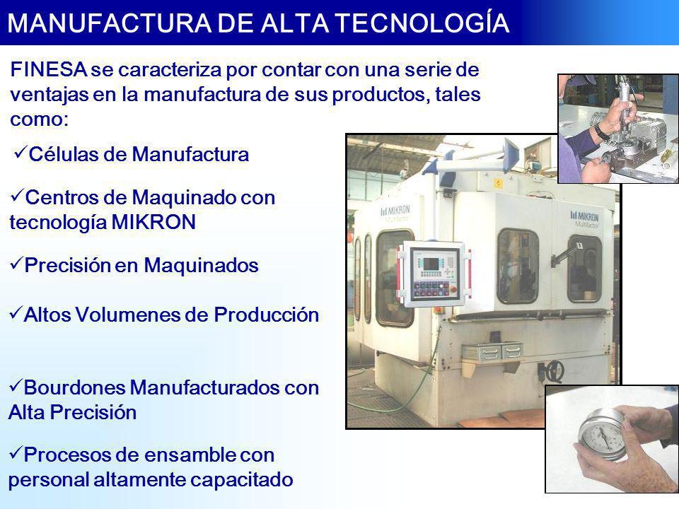 MANUFACTURA DE ALTA TECNOLOGÍA
