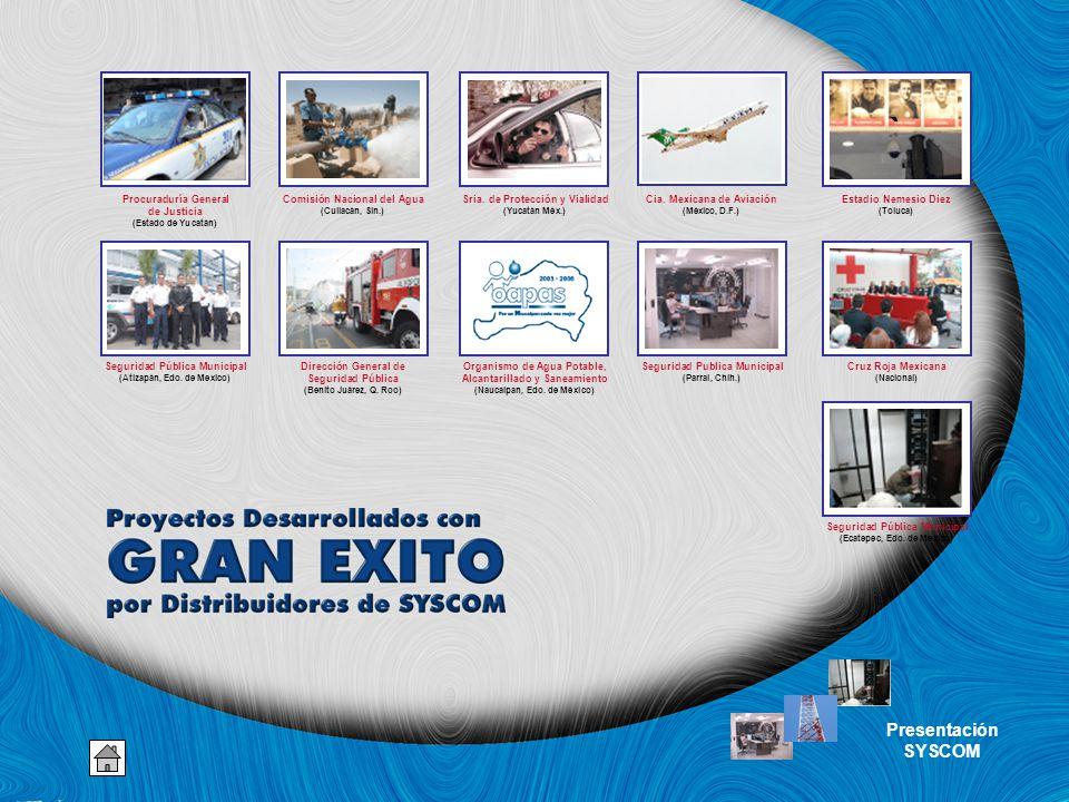 ` Presentación SYSCOM Procuraduría General de Justicia