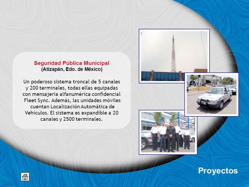 Seguridad Pública Municipal (Atizapán, Edo. de México)