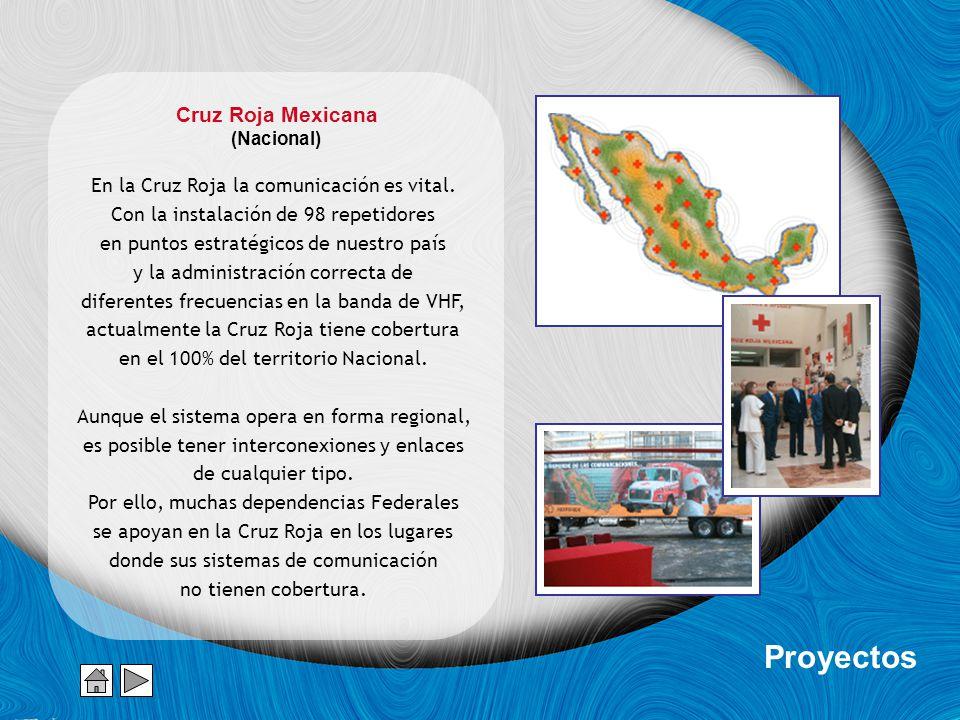 Proyectos Cruz Roja Mexicana En la Cruz Roja la comunicación es vital.