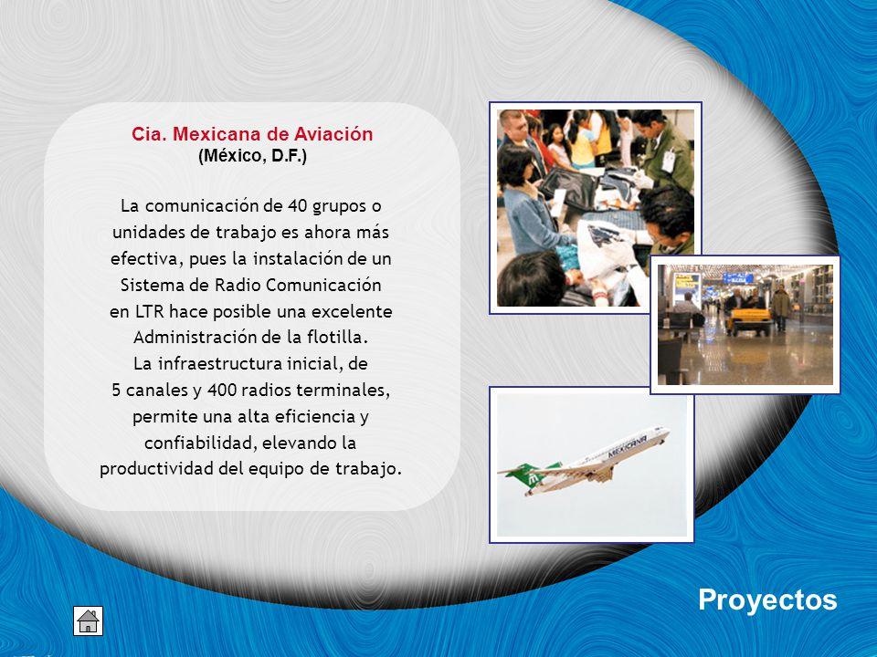 Cia. Mexicana de Aviación