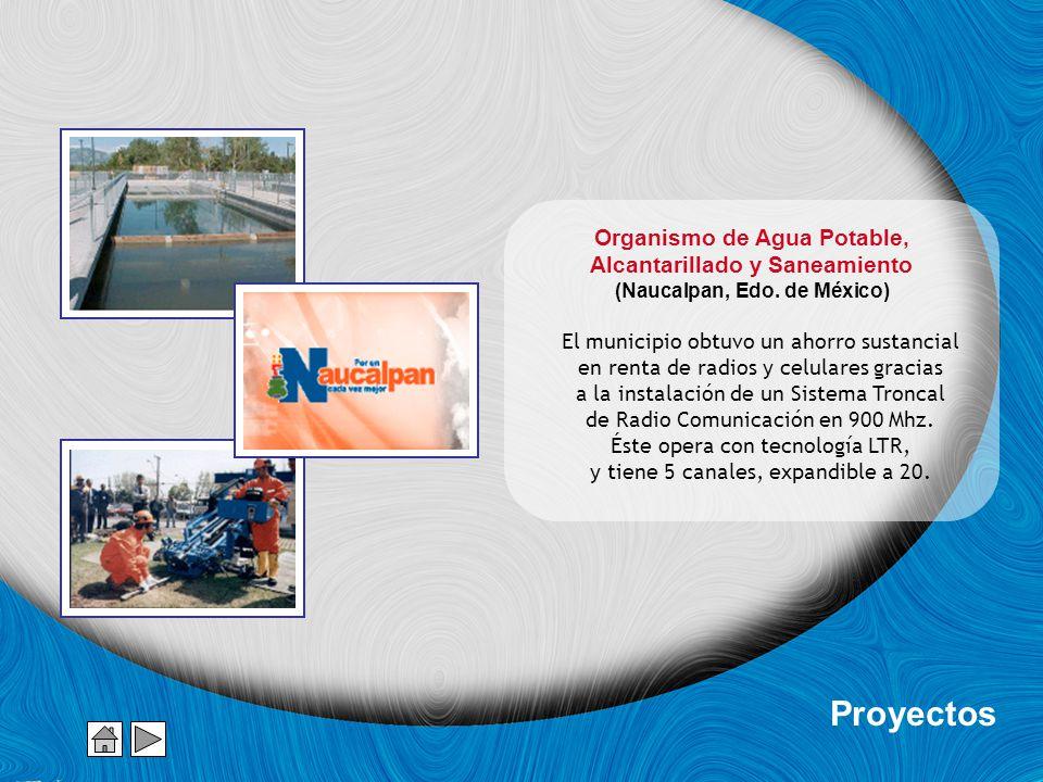 Proyectos Organismo de Agua Potable, Alcantarillado y Saneamiento