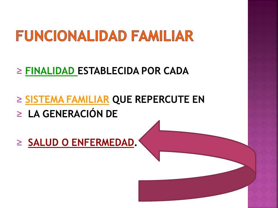 FUNCIONALIDAD FAMILIAR