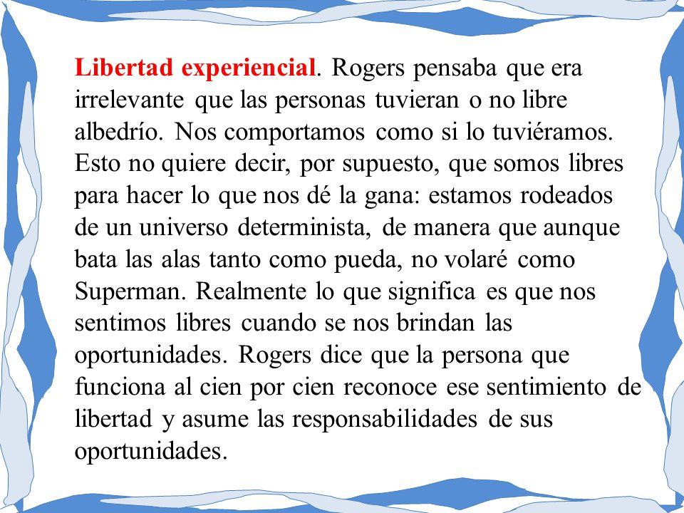 Libertad experiencial