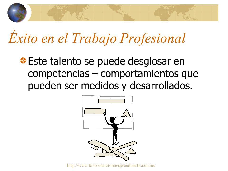 Éxito en el Trabajo Profesional