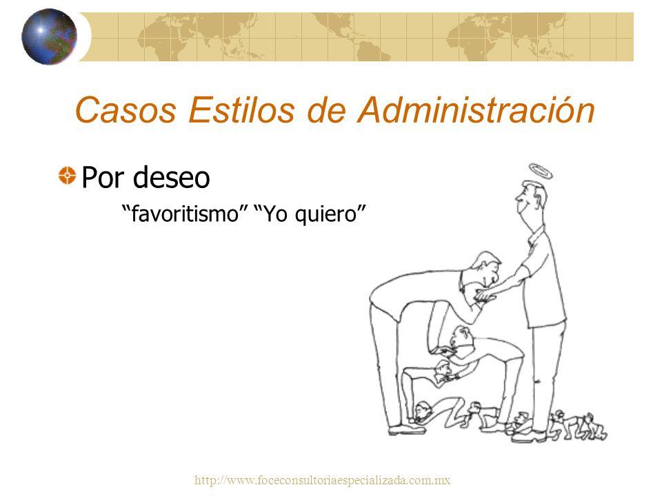 Casos Estilos de Administración