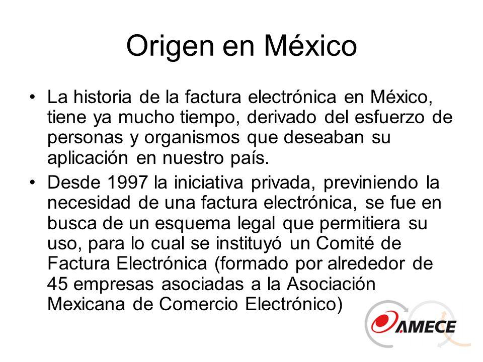 Origen en México
