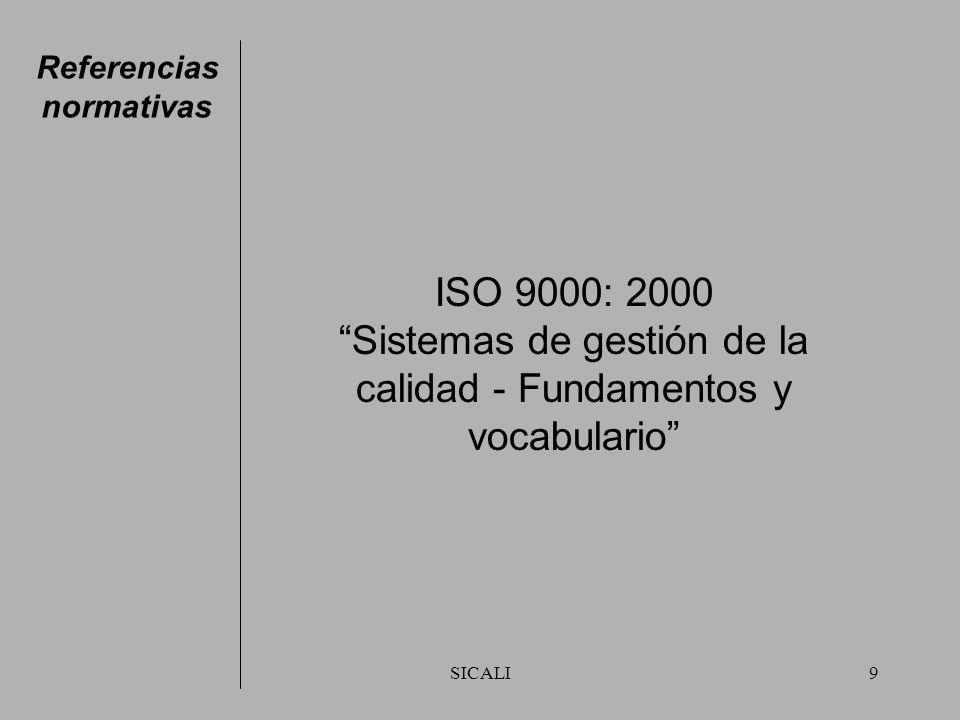 Sistemas de gestión de la calidad - Fundamentos y vocabulario