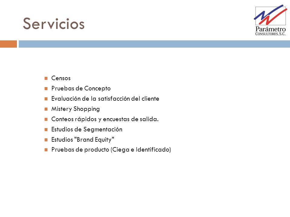 Servicios Censos Pruebas de Concepto