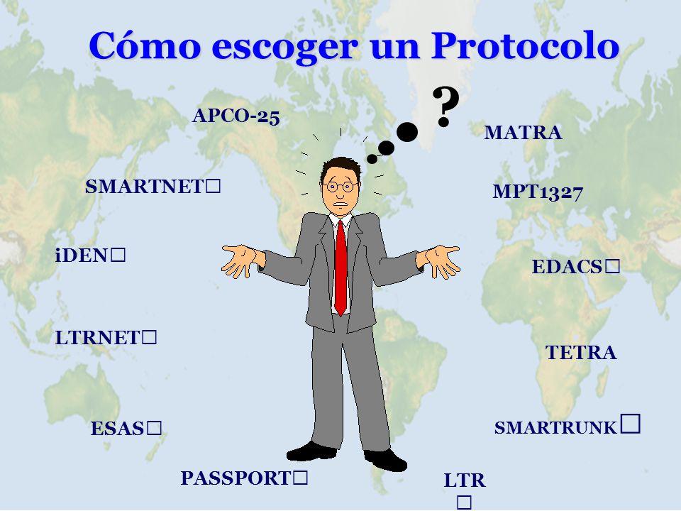 Cómo escoger un Protocolo