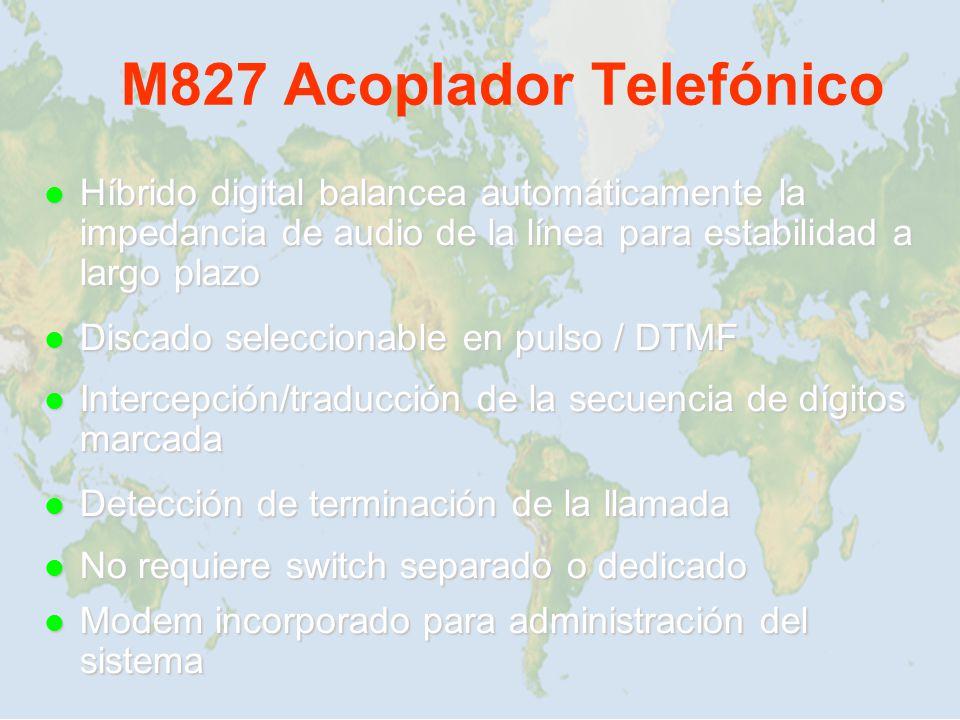 M827 Acoplador Telefónico