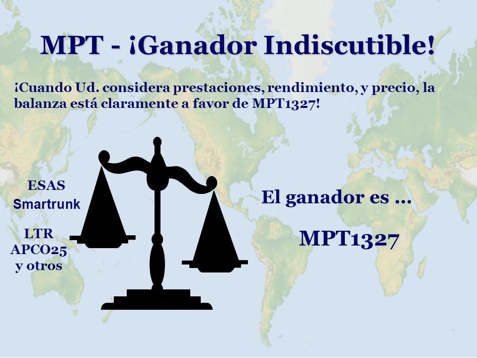 MPT - ¡Ganador Indiscutible!