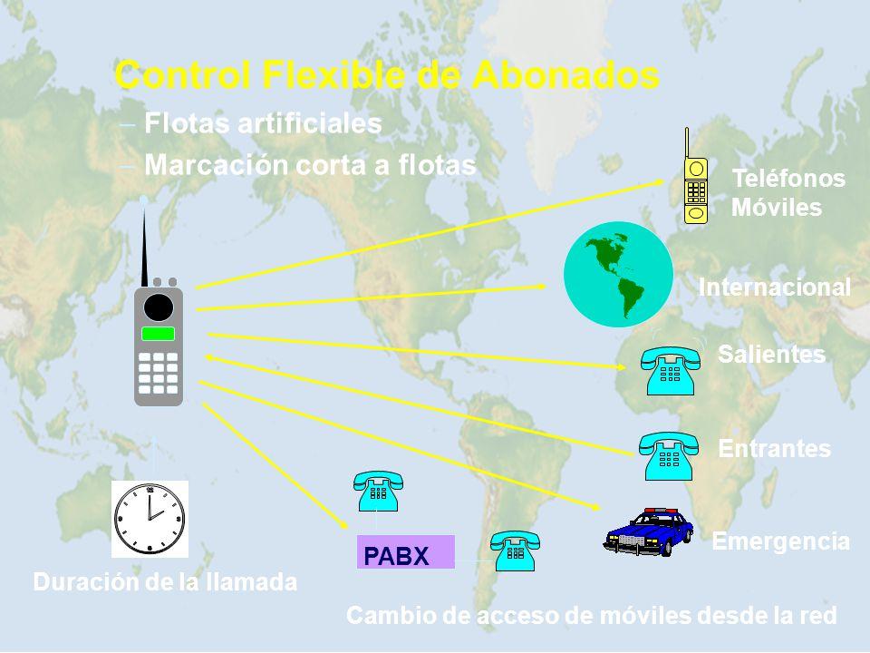 Control Flexible de Abonados