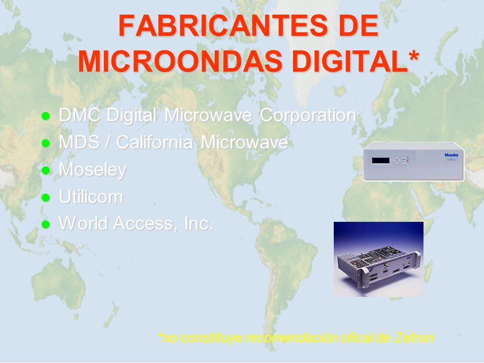 FABRICANTES DE MICROONDAS DIGITAL*