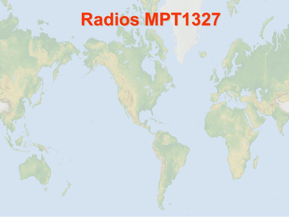 Radios MPT1327